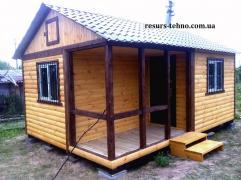 Домики дачные,бытовки дачные и строительные