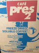 "Weight coffee instant freeze-dried ""El Pres Cafe-2"""